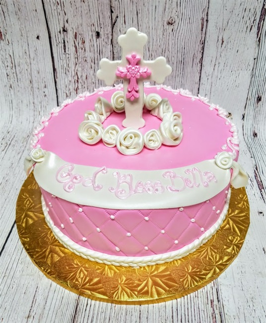 Long Island Ocassion Cakes, Communion Cakes, Christening Cakes