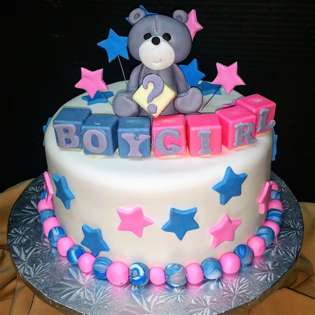 Baby Shower Reveal Cakes Part - 37: Bridal/Baby Showers, Engagement U0026 Gender Reveal